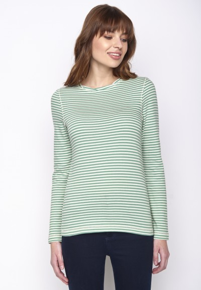 Basic Charme Frosty Green Stripes