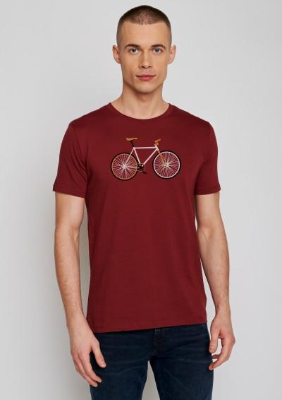 Bike Easy Guide Burgundy