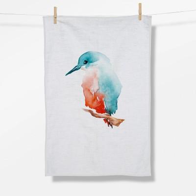 Animal Kingfisher (Tea Towel)