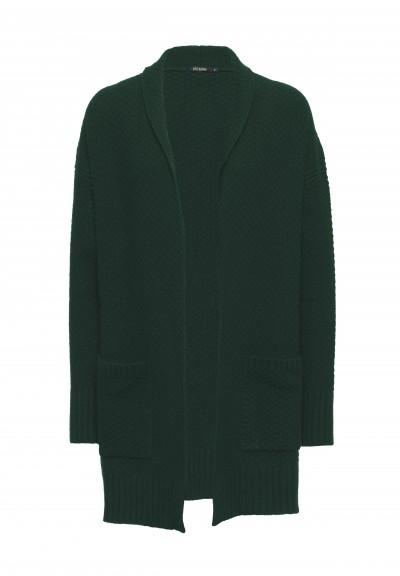 Tall Cardigan Dark Green