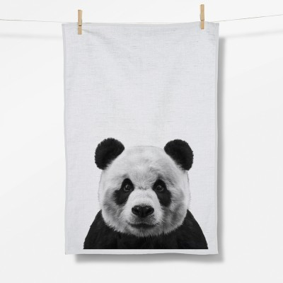 Animal Panda (Tea Towel)