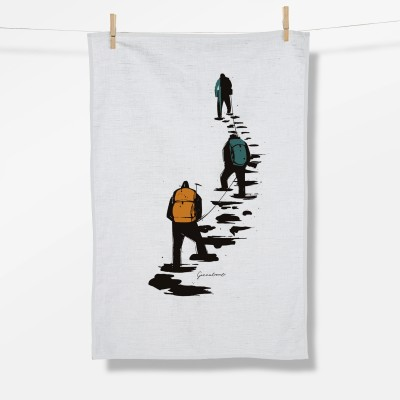Nature Climber (Tea Towel)