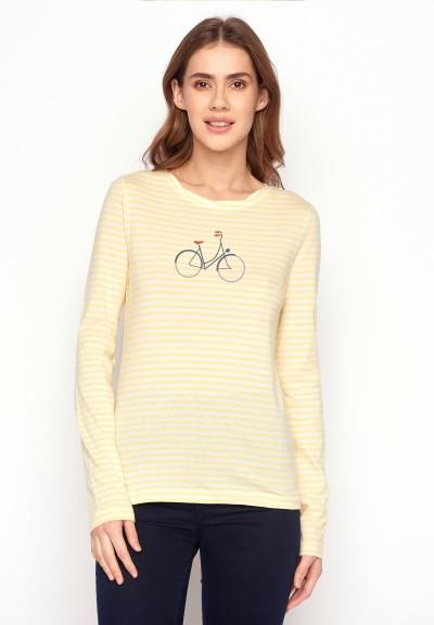 Bike Femme Charme Light Yellow Stripes