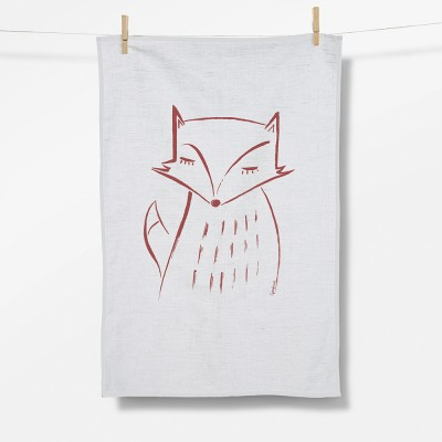 Animal Fox (Tea Towel)