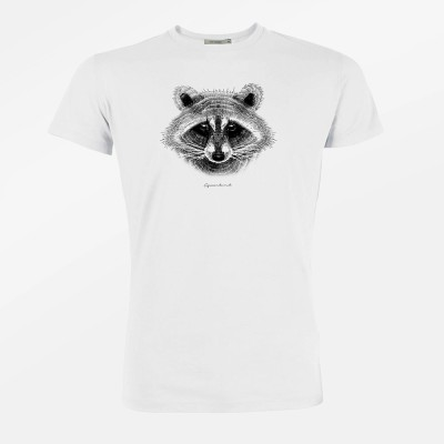 Animal Raccoon Guide White
