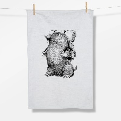 Animal Mole (Tea Towel)