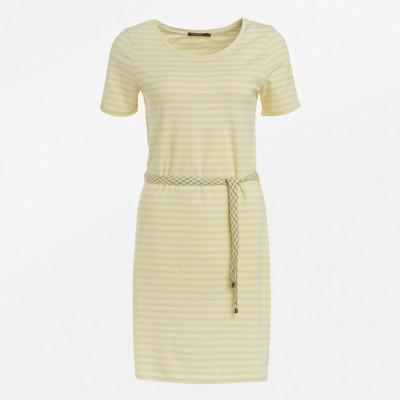 Basic Soft Light Yellow Stripes