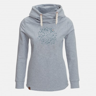 Animal Fish Circle Lucky Heather Grey