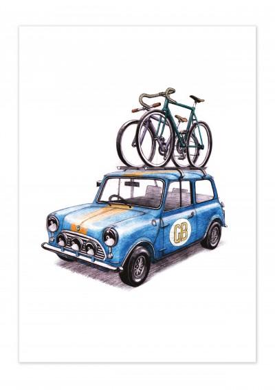 Bike Rallye Poster
