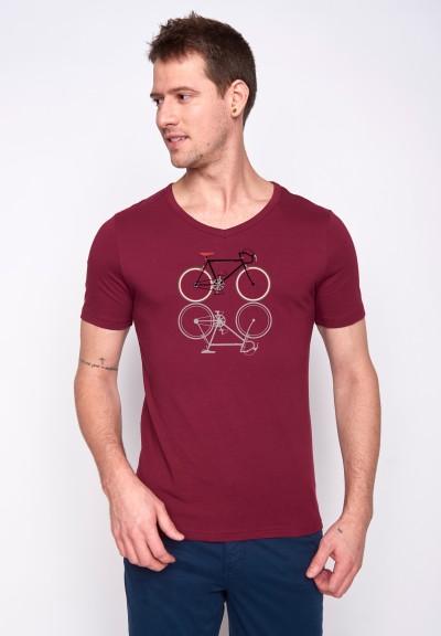 Bike Shape Peak Bordeaux