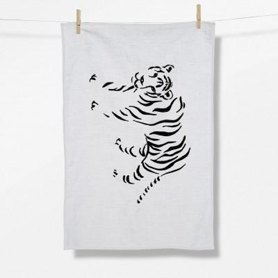 Animal Tiger (Tea Towel)