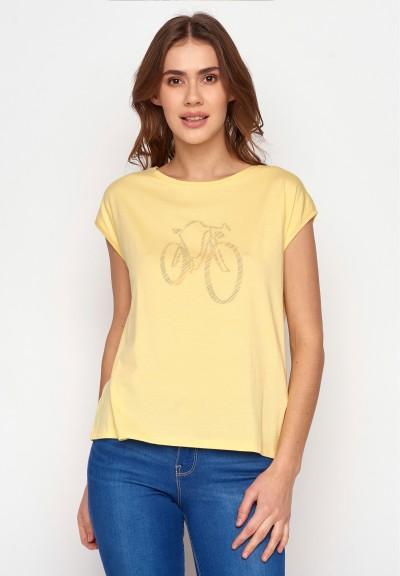 Bike Rainbow Tender Pastel Yellow