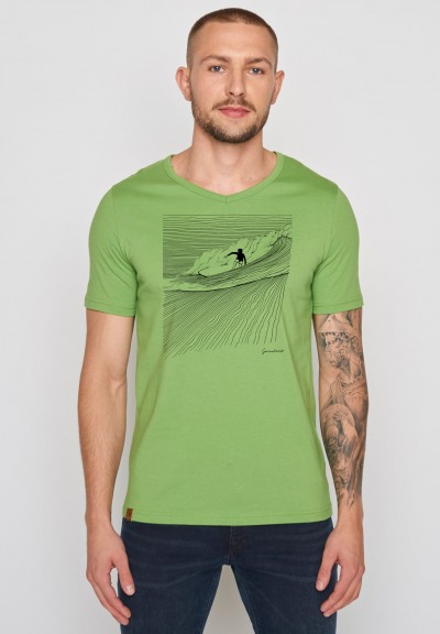 Nature Surfer Peak Pale Green