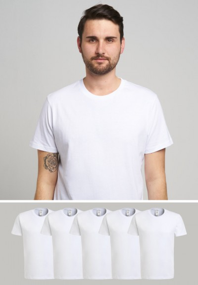 5x Basic Daily I White