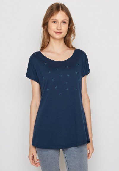 Plants Summer Vibes Cool Navy
