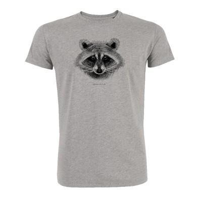 Animal Raccoon Guide Heather Grey