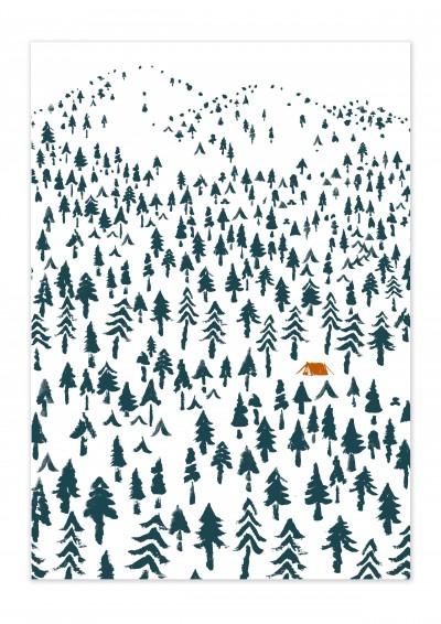 Nature Landscape Poster