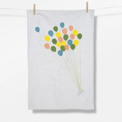 Bike Balloon (Tea Towel)