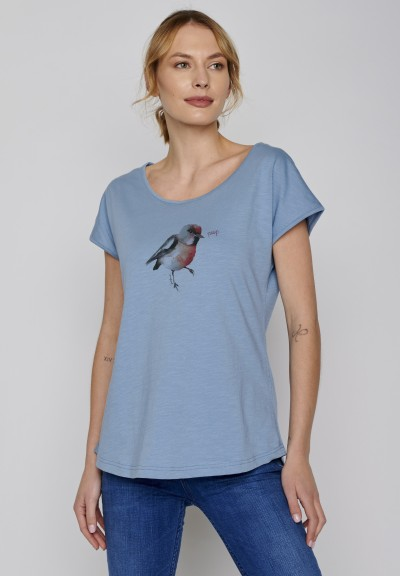 Animal Bird Peep Cool Diva Blue
