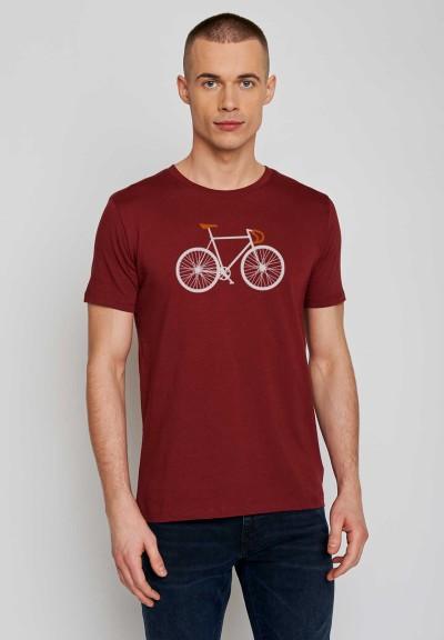 Bike Two Guide Burgundy