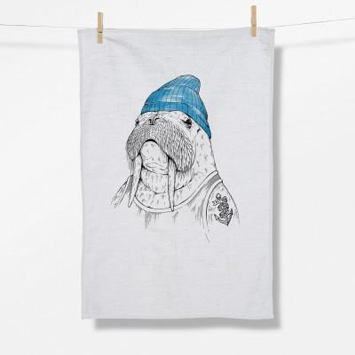 Animal Walrus (Tea Towel)