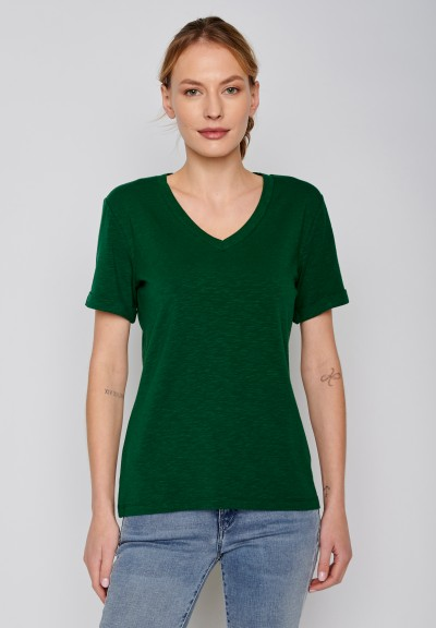 Basic Petite Dark Green