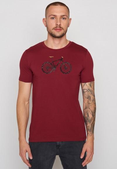 Bike Cross Guide Burgundy