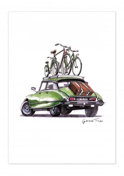 Bike Good Trip Poster