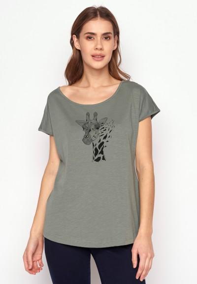 Animal Giraffe Cool Olive