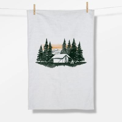 Nature Forest Tent (Tea Towel)