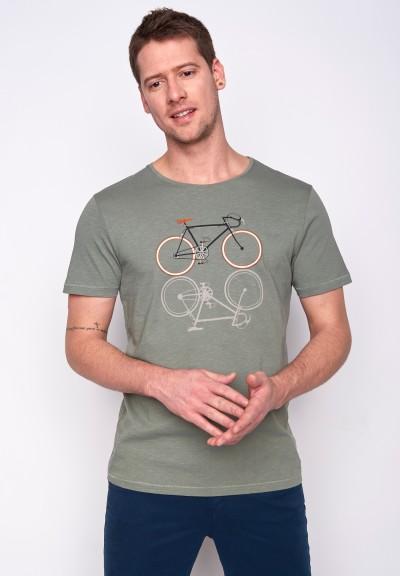 Bike Shape Spice Olive