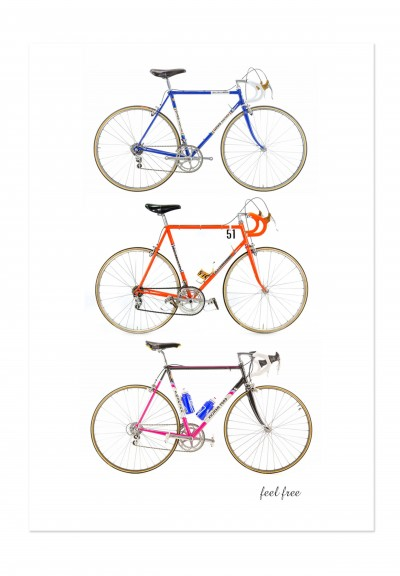 Bike Retro Vibes Poster