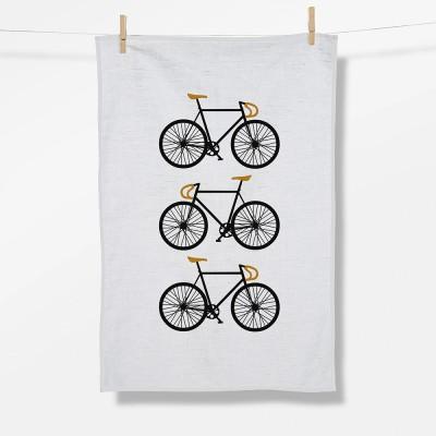 Bike Three Bikes (Tea Towel)