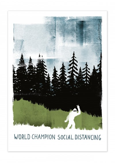 Nature World Champion Poster