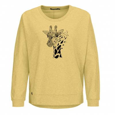 Animal Giraffe Slack Heather Yellow